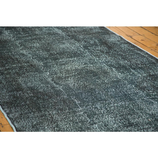 """Vintage Overdyed Distressed Runner - 5' X 13'3"""" - Image 3 of 10"""