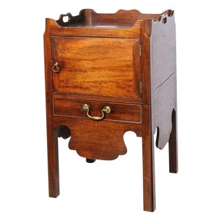 English mahogany night stand For Sale
