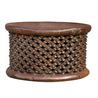 Primitive African Antique Bamileke Carved Table For Sale