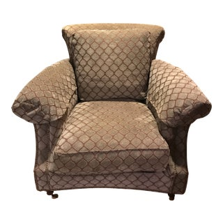 Modern Henredon Highback Armchair For Sale