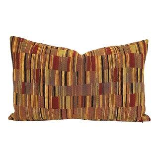 Kravet Navarra in Cinnabar Lumbar Pillow Cover For Sale