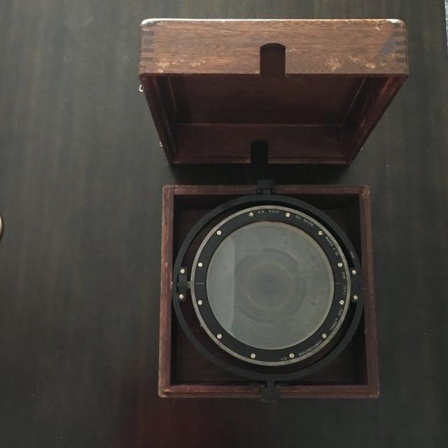 1941 Vintage US Navy Illuminated Compass - Image 2 of 10