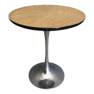Burke Mid-Century Modern Tulip Side or End Table For Sale