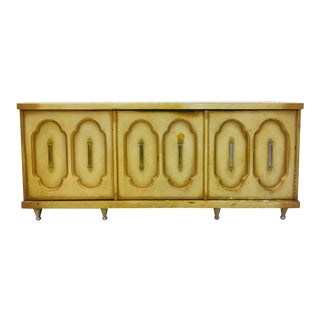 Vintage Hollywood Regency Credenza