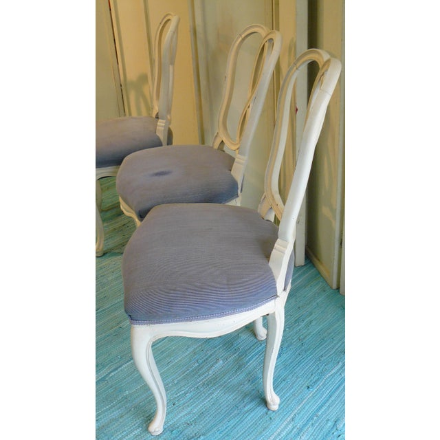Early 20th Century Pretzel Chairs- Set of 4 For Sale - Image 9 of 12