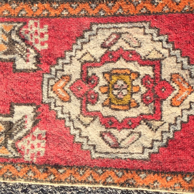 "Anatolian Persian Rug - 1'7"" X 3'6"" - Image 5 of 8"