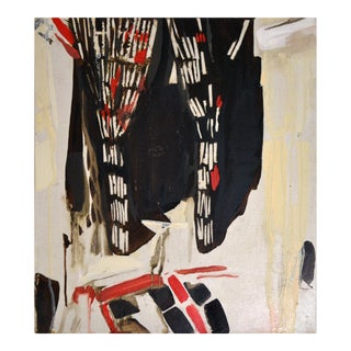 Abstract Painting, Sake at Bar Vitelli, by Lucia Jones For Sale