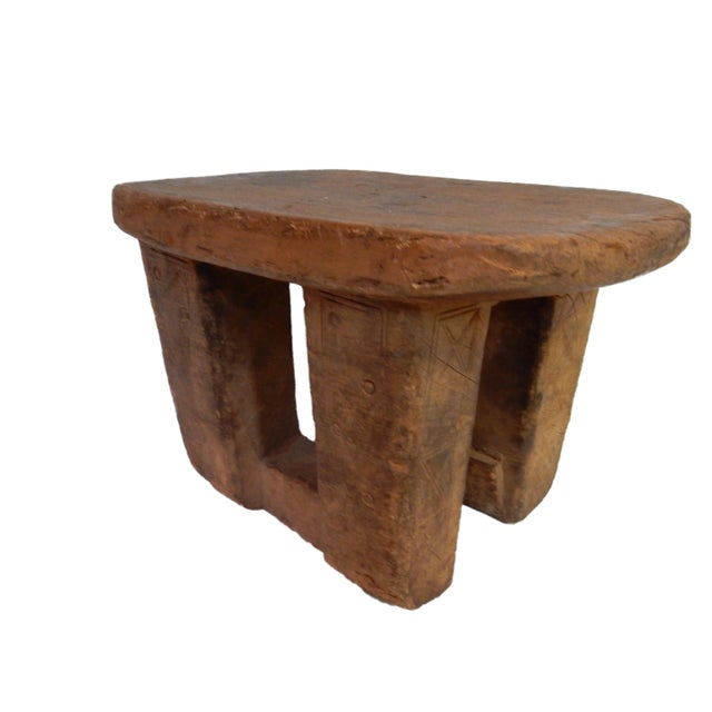 Bamileke Low Milk Stool Cameroon For Sale In New York - Image 6 of 7