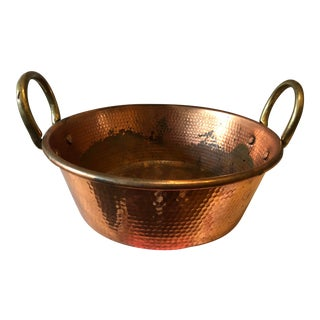 Hammered Copper Pan For Sale