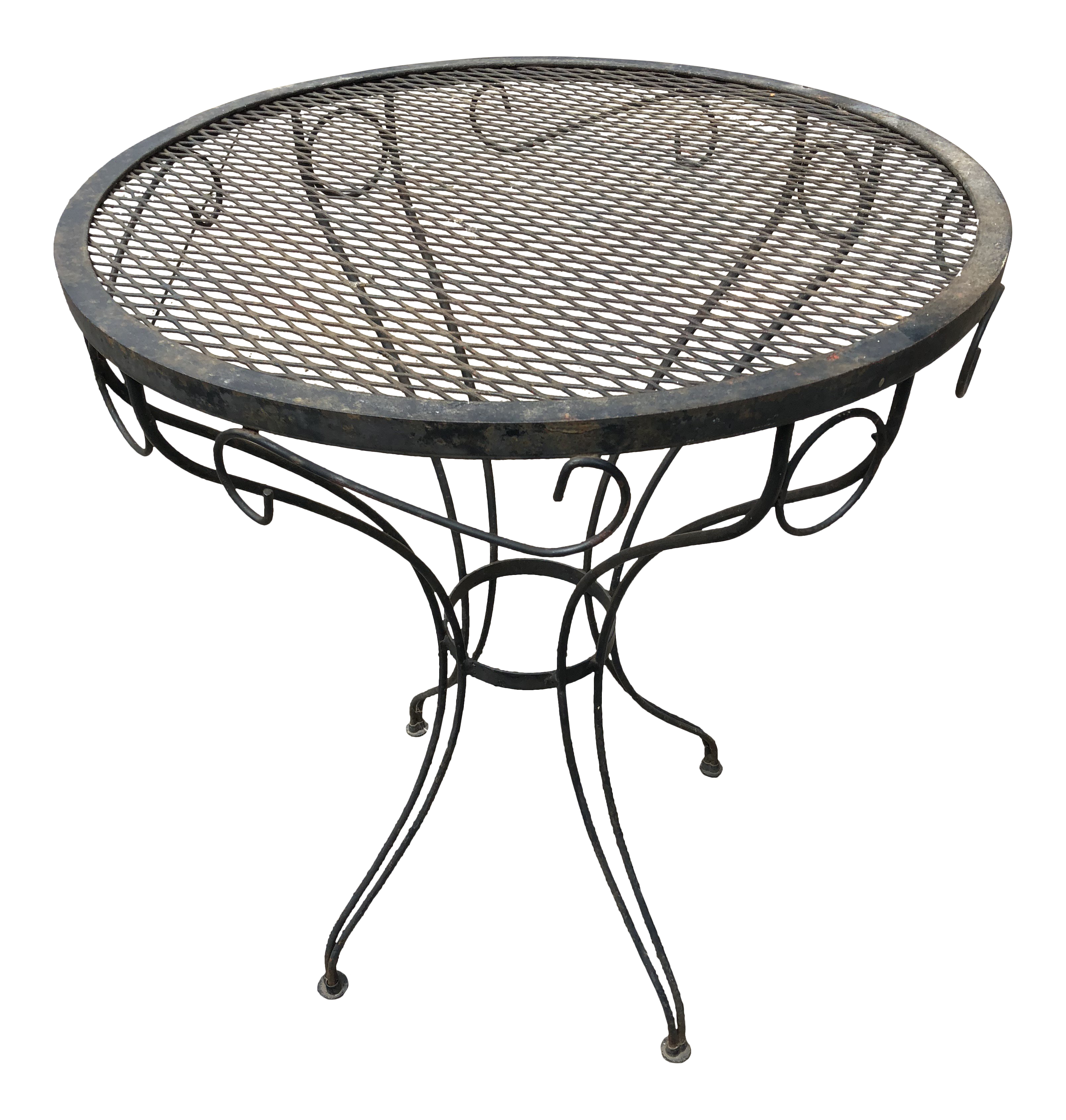 vintage used furniture for sale chairish 1950s Style Interior Decorating 1970s boho chic russell woodard small bistro table