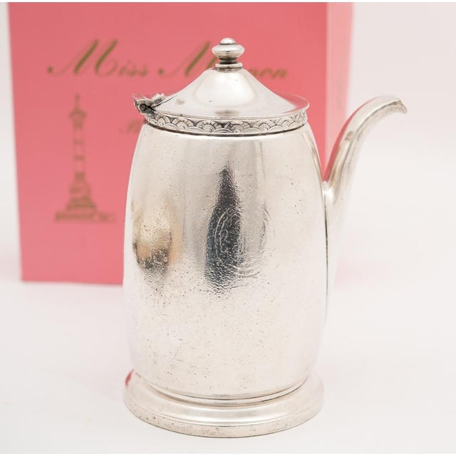 Hotel Pierre NYC Handled Coffee Pot, 1954 - Image 3 of 7