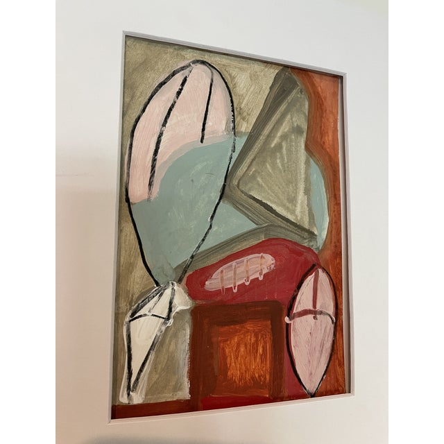 Contemporary Abstract Mixed-Media Painting For Sale - Image 4 of 10
