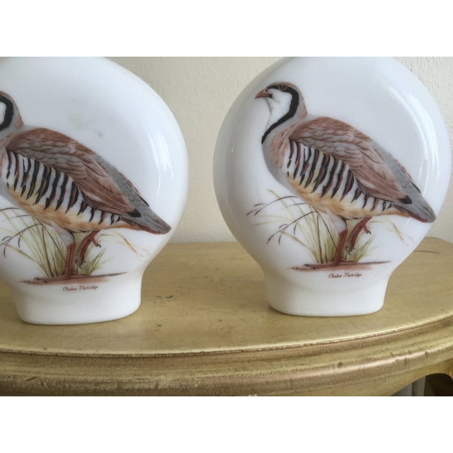 """1969 Field Bird"" Quail Decanters - a Pair - Image 6 of 10"