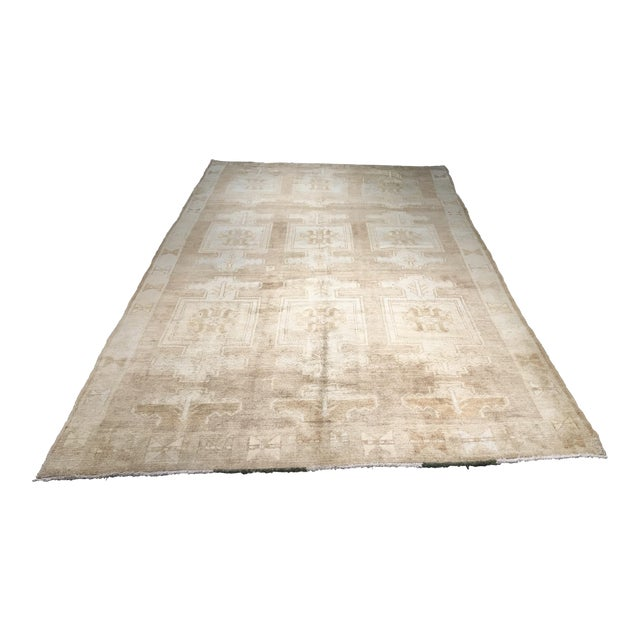 "Bellwether Rugs Vintage Turkish Oushak Rug - 6'6""x10'4"" - Image 1 of 7"