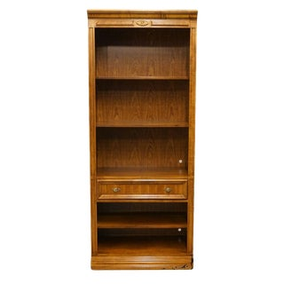 "Bernhardt Country French 32"" Wall Unit Bookcase For Sale"