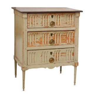 Painted French Commode