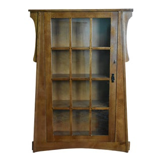 Crafters and Weavers Craftsman Crofter Bookcase Right Hand Door For Sale