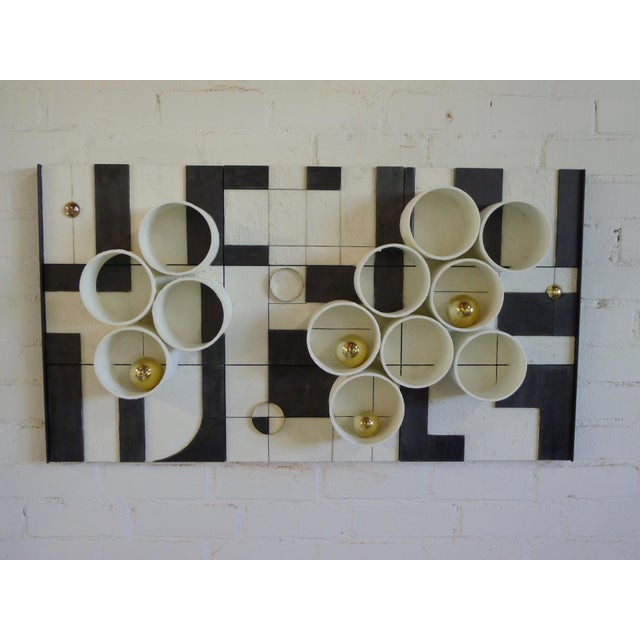 Modern Frieze Three-Dimensional Wall Art by Paul Marra For Sale - Image 9 of 9