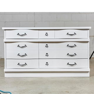 1960s White Painted Dresser Preview