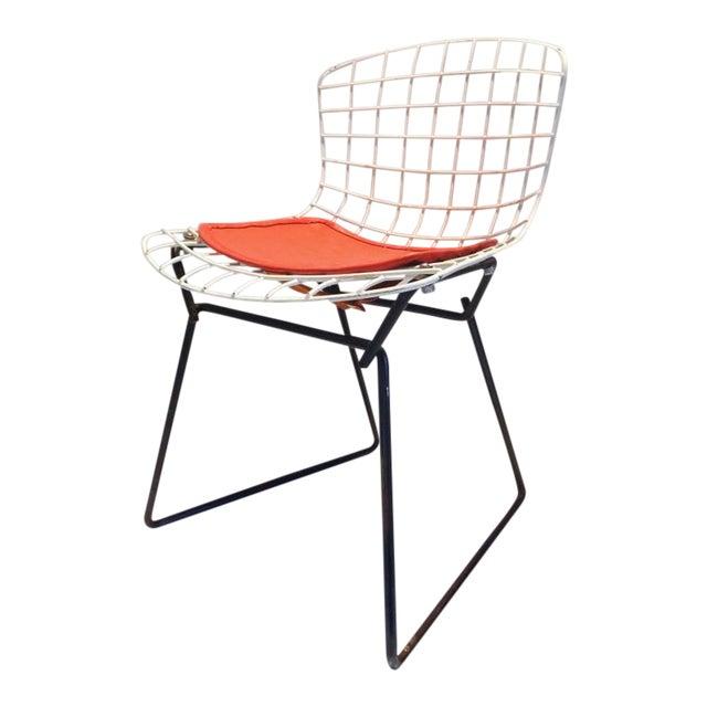 Black & White Harry Bertoia for Knoll Small Children's Chair For Sale