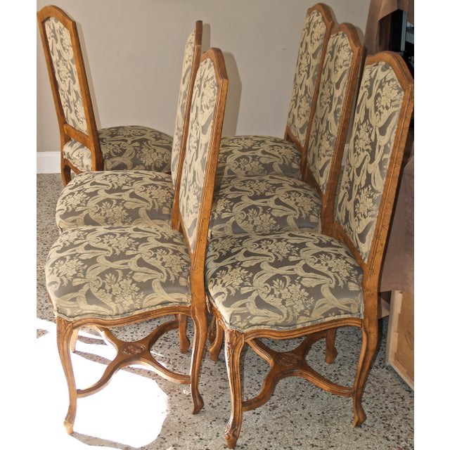 1990s Vintage Fairfield Dining Chairs - Set of 6 For Sale - Image 9 of 12