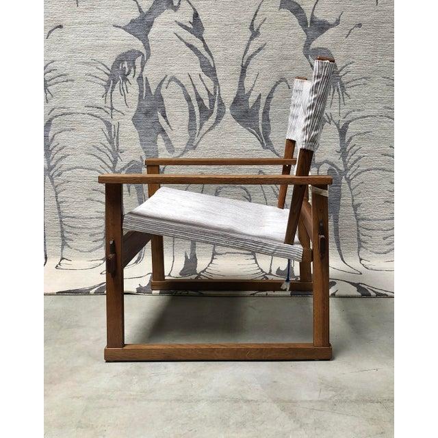 Mid-Century Modern 1950s Danish Modern Poul Hundevad Safari Chair For Sale - Image 3 of 12