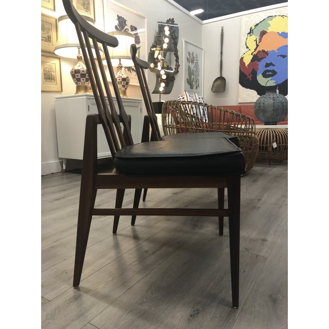Mid-Century Modern Pair of Harvey Probber Chairs For Sale - Image 3 of 11