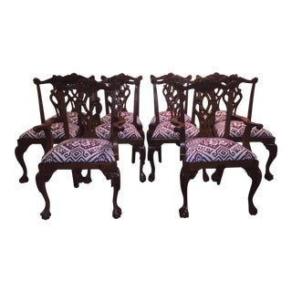 Chippendale Dining Chairs - Set of 10