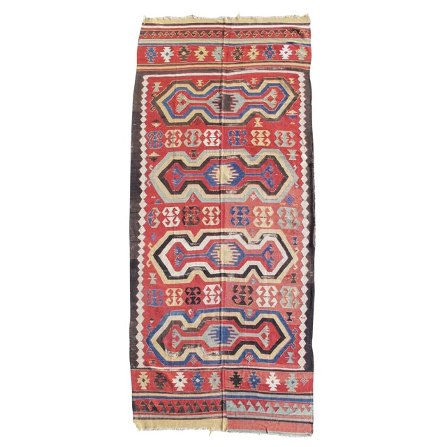 Konya Kilim Rug - 5′6″ × 12′ For Sale