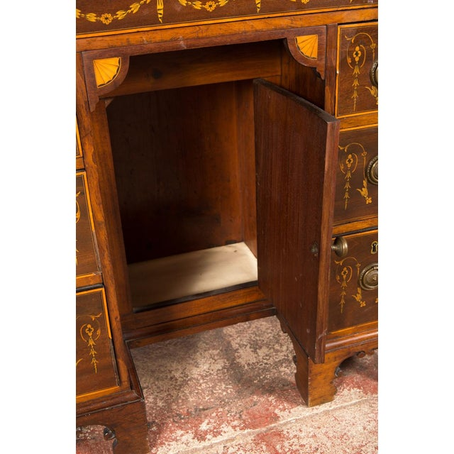 18th-Century Petite Georgian Inlaid Desk - Image 9 of 10