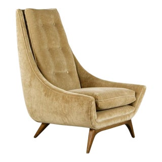 Mid-Century Modern Adrian Pearsall High Back Lounge Chair For Sale