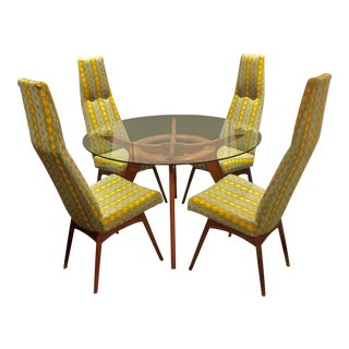 Adrian Pearsall High-Back Chairs & Table