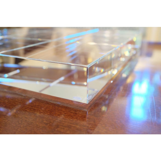 Crystal Modern Crystal Game Board For Sale - Image 7 of 11