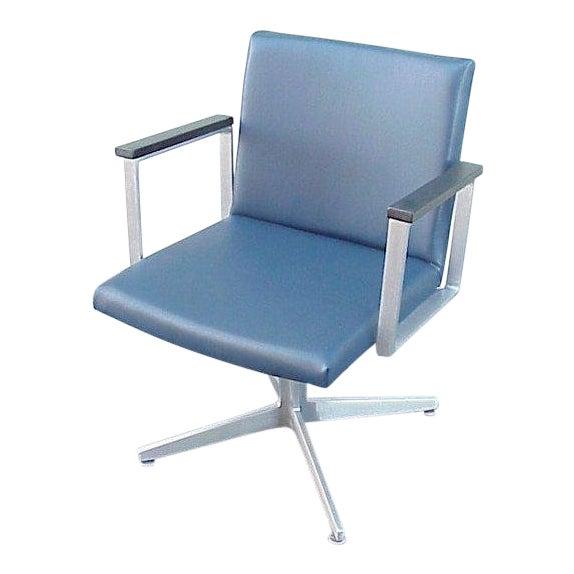 1960s Vintage Mid-Century Goodform Aluminum Armchair For Sale