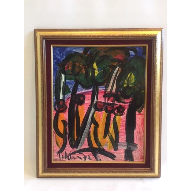 Peter Keil Peter Keil Painting 1972 For Sale - Image 4 of 4
