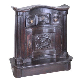 18th Century Antique Italian Wooden Prie Dieu For Sale