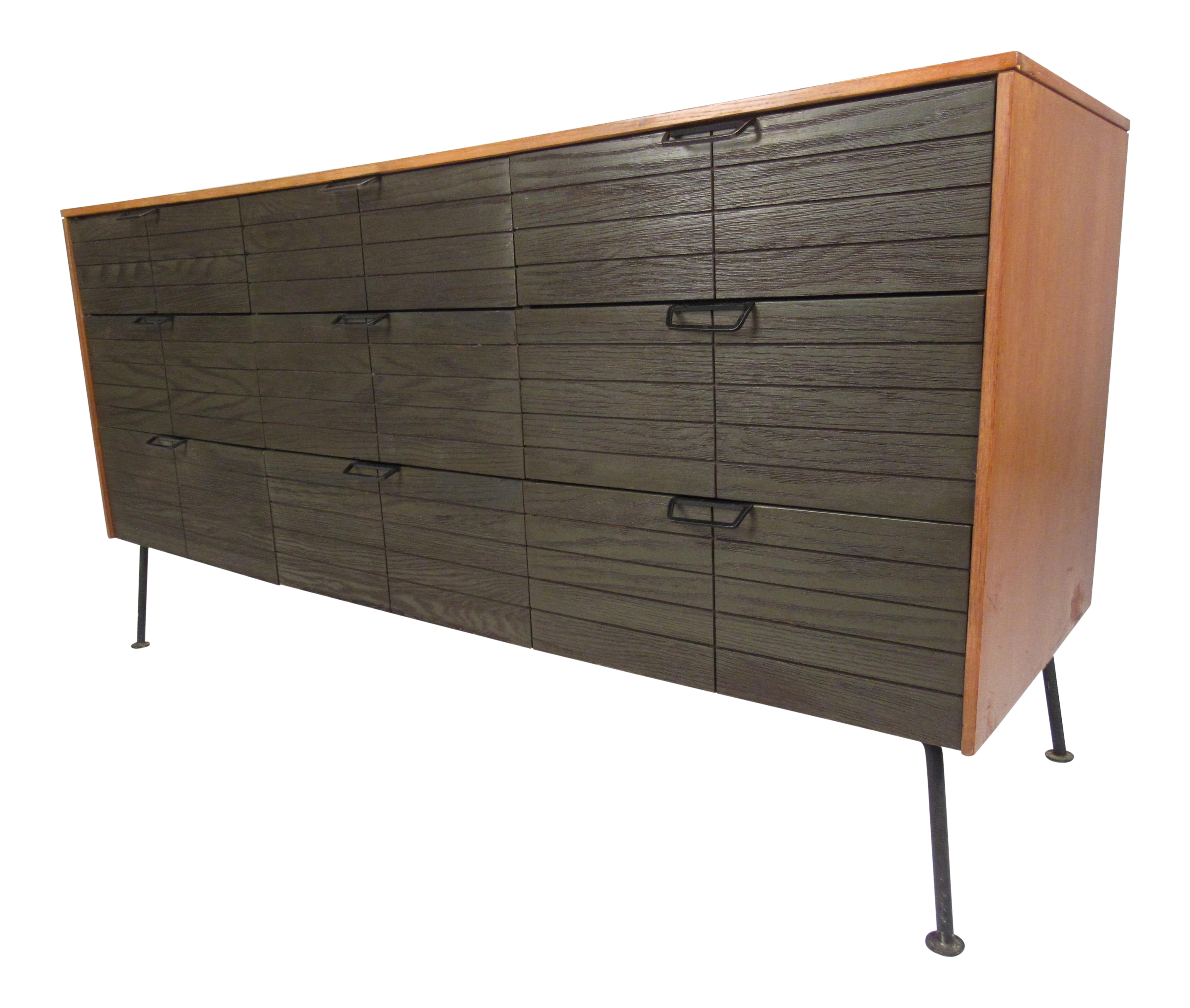 Mid Century Raymond Loewy Dresser For Mengel Furniture Company