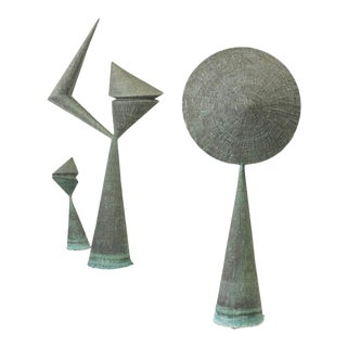 Important Harry Bertoia Sculptures from Stemmons Towers, Dallas