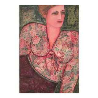Roberta Meyerson Robin Painting