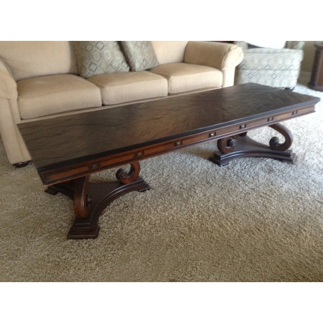 Slate Coffee Table For Sale - Image 5 of 5