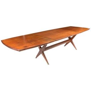 "Fredrik Kayser ""Captains"" Dining Table For Sale"