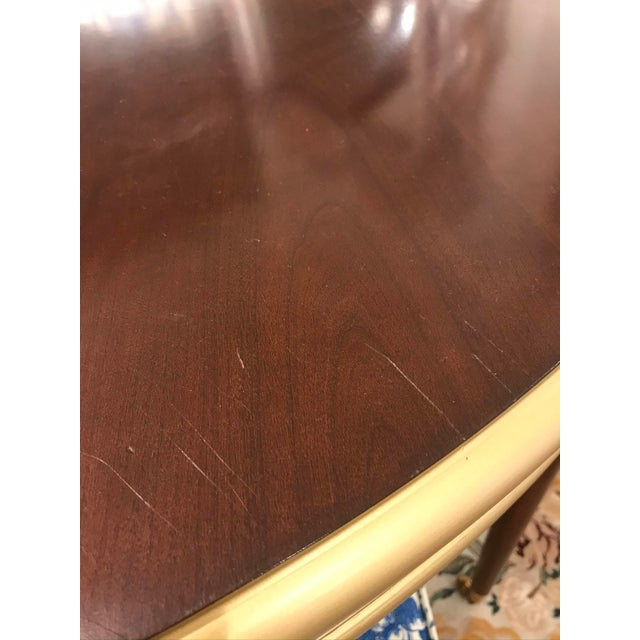 2000 - 2009 Traditional Hickory Chair Choate Dining Table For Sale - Image 5 of 12