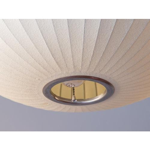 Vintage George Nelson Bubble Lamp For Sale In New York - Image 6 of 8