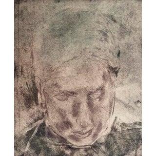 """""""Portrait"""" Original Print by Jacklyn Friedman"""