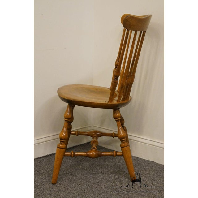 Nichols & Stone Gardener MA Old Pine Side Chair For Sale - Image 11 of 13