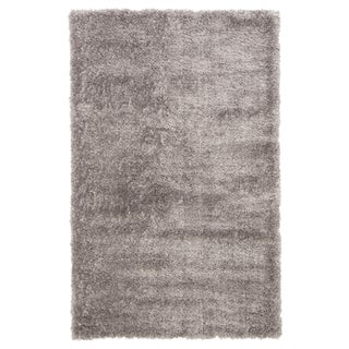 Jaipur Living Katya Solid Dark Gray Area Rug - 5′ × 8′ For Sale