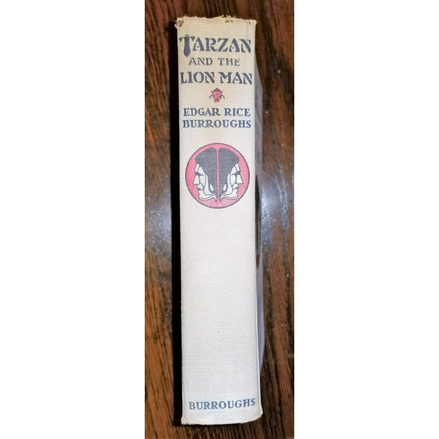 """Tarzan and the Lion Man"" 1st Edition Book by Edgar Rice Burroughs For Sale - Image 12 of 13"