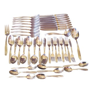 Mikasa Stainless Flature - Service for 8 For Sale
