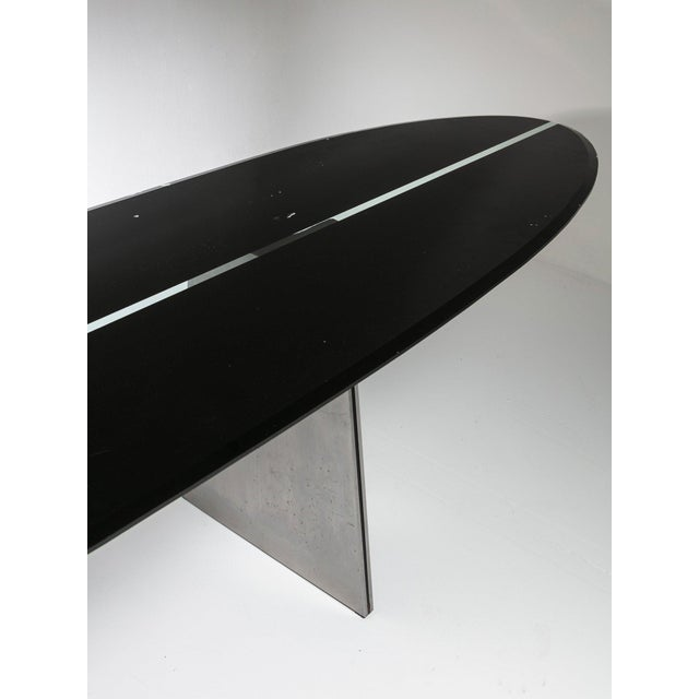 """Rare """"Ufo"""" Table by Luigi Saccardo for Arrmet For Sale - Image 4 of 7"""