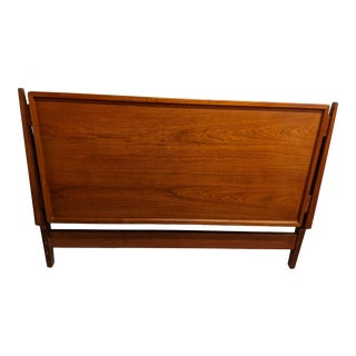 1950s Danish Modern Teak Full Size Headboard by Kofod Larsen For Sale